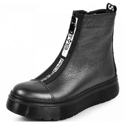 шкіряні зимові черевики 2037