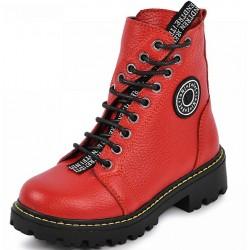 шкіряні зимові черевики 2067