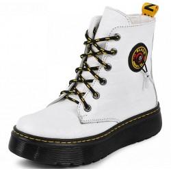 шкіряні зимові черевики 2161