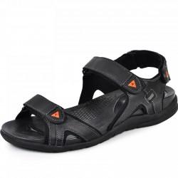 шкіряні сандалі Х 3 сірий