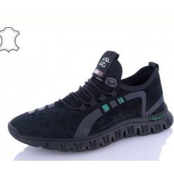 шкіряні кросівки 0808